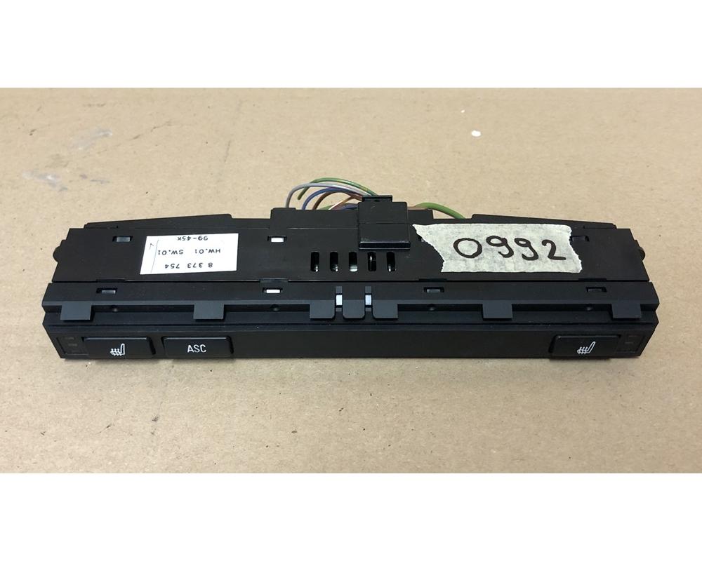 BMW E46 Ülésfűtés és ASC kapcsoló panel